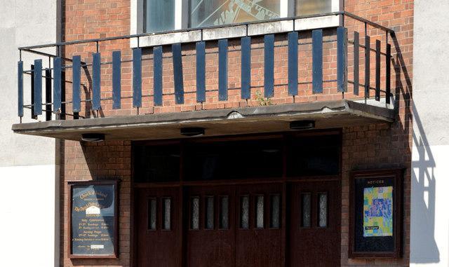 Balcony, St Stephen's, Millfield, Belfast