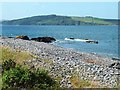 NX0572 : Looking across Loch Ryan from Finnarts Bay by Oliver Dixon