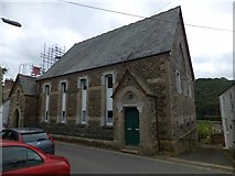 SX4368 : Wesley Flats, Calstock by David Smith