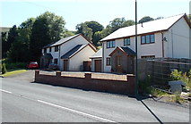 SO1506 : New Road houses south of Tredegar by Jaggery