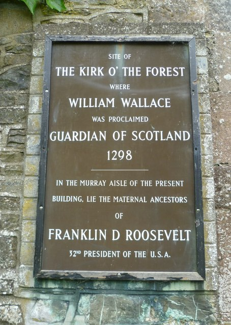 Kirk o' the Forest entrance sign