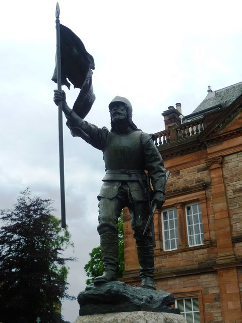 Fletcher statue, Scotts Place