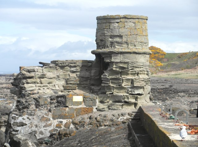 The old harbour lighthouse, Dunure
