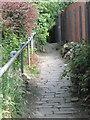 SE0935 : Footpath - Lingfield Road by Betty Longbottom
