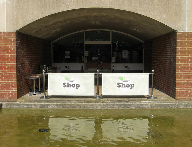 Student Union Shop, Falmer House, University of Sussex