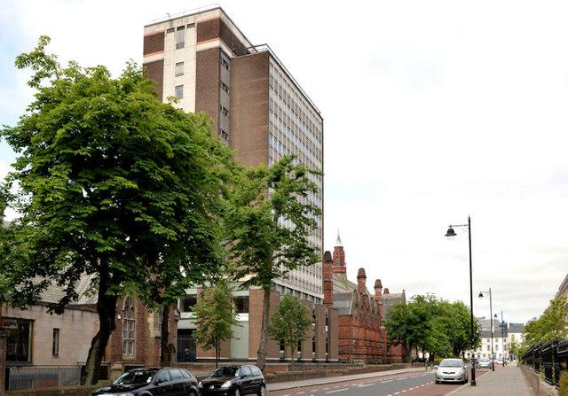 Former libraries, Queen's University, Belfast (2013-3)