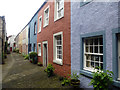 NY1230 : Terraced cottages, Banks Court, Cockermouth by Julian Osley