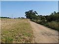 TL6928 : Bridleway near Park Hall, Great Bardfield by Roger Jones