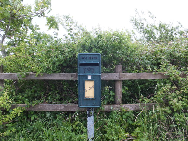 Re-cycled letter box