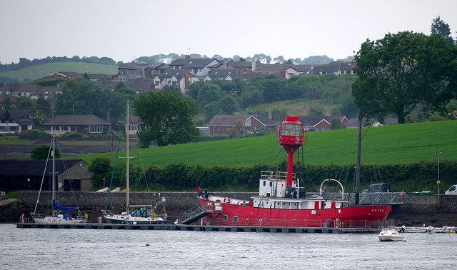Former lightship, Ballydorn