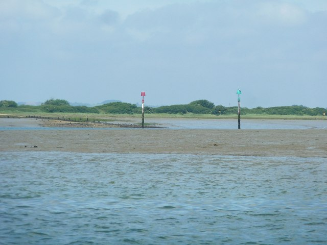 Mouth of Thorney Channel