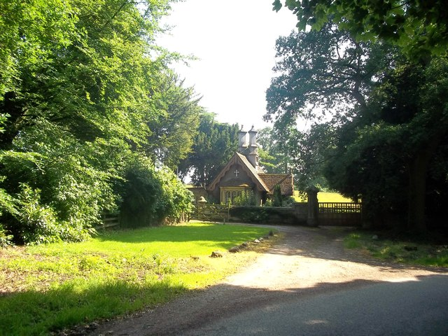 Ashbourne Lodge at the Entrance to Snelston Park