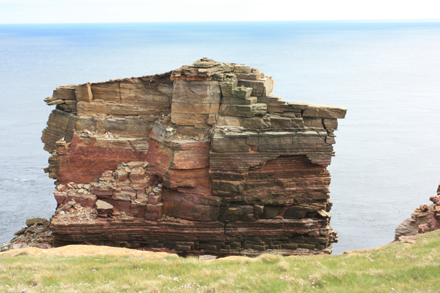The top of the Knee, Duncansby Head