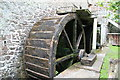 SS9943 : Dunster Water Mill - wheels by Chris Allen