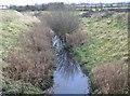 O0830 : Coolfan River near Newlands Cross Cemetery by jwd