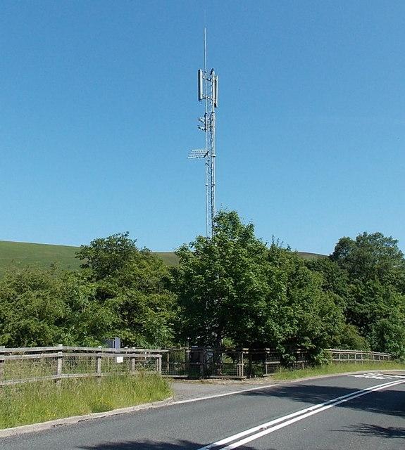Arqiva telecoms mast, Bedwellty Pits