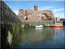 NT6779 : Coastal East Lothian : A View Towards The Visitors' Berth, Victoria Harbour, Dunbar by Richard West