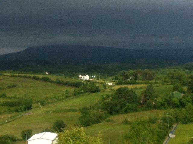 View of Playbank from Drumkeeran