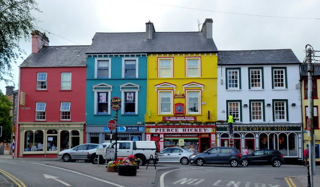 Colourful buildings in Skibbereen