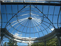 TQ0682 : The conservatory roof at Bishopshalt School by Rod Allday