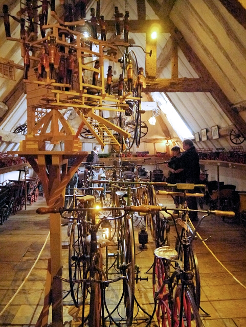 Bicycle Room, Snowshill Manor
