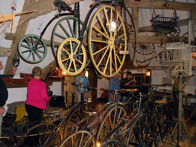 Snowshill Manor Bicycle Collection