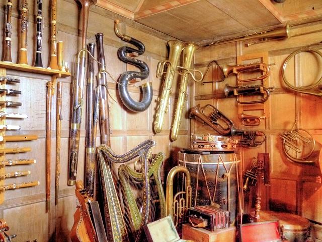 Music Room, Snowshill Manor