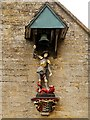 SP0933 : St George and the Dragon, Snowshill Manor by David Dixon