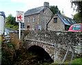 SO1327 : Llangors Bridge, Llangors by Jaggery