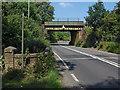SU8851 : Lakeside Road railway bridge by Alan Hunt