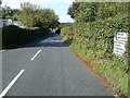 SO1327 : Minor road from Llangors to Brecon by Jaggery
