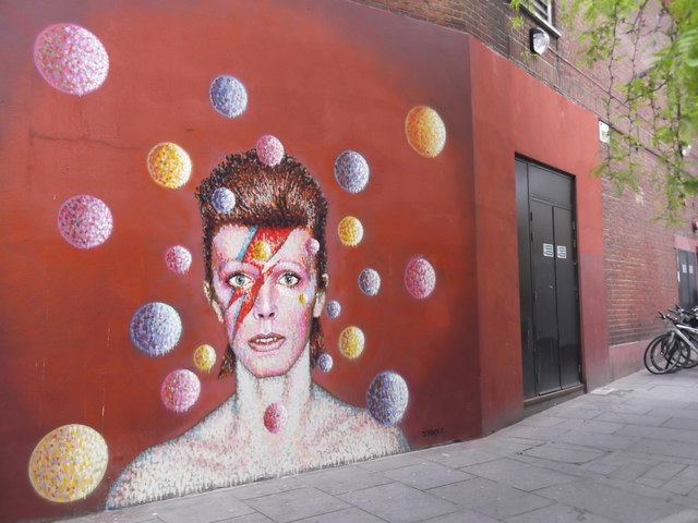 David Bowie mural, Tunstall Road SW9