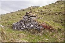 NN2423 : Cairn at NN245230 by Iain A Robertson