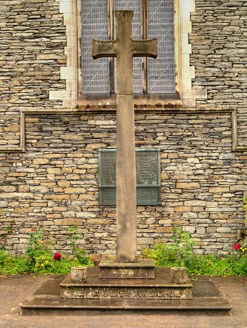 Burneside War Memorial, St Oswald's Church