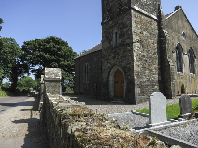 The church at Brinny bridge