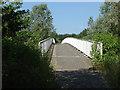 SU8852 : A331 footbridge by Alan Hunt