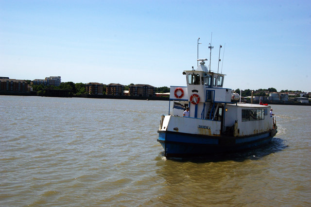 Tilbury-Gravesend passenger ferry, Tilbury