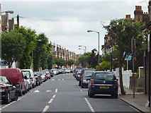 TQ2772 : Tooting:  Foulser Road by Dr Neil Clifton