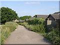 SE3700 : Track along the former Lidgett Incline by Alan Murray-Rust