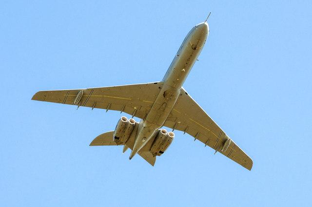 Royal Air Force VC10 - St Athan