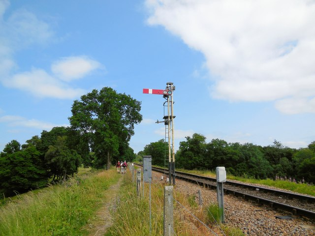 Signal on Bluebell Line