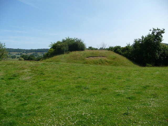 Lingen motte and bailey castle