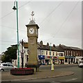 SD3347 : Rowntree Clock Tower by Gerald England