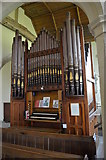TR1144 : Organ, St James the Great church, Elmstead by Julian P Guffogg