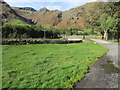 NY2906 : Bridge over Great Langdale Beck by Peter Holmes