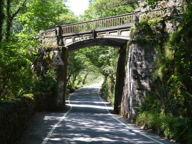Railway bridge at Tan y Bwlch