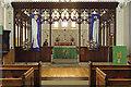 TQ3389 : Holy Trinity, Philip Lane, Tottenham Green - Screen by John Salmon