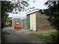 SE0837 : Electricity Substation No 1689 - Stephen H Smith's Garden Centre - Harden Lane by Betty Longbottom