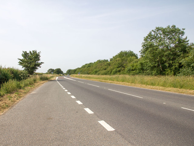 Lay by on the A4260