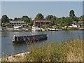 TQ0765 : The Thames at Weybridge by Alan Hunt
